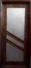 usa de interior cu geam placata furnir stejar baituita